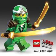 The LEGO Movie Green Ninja