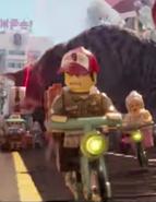 Kébab Bob-LEGO Ninjago, Le Film