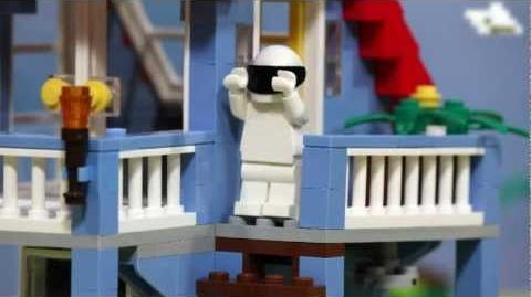 Lego Stig - Top Gear - BBC
