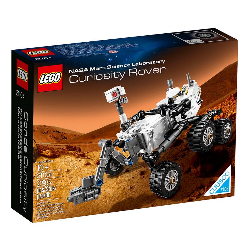 21104 Mars Science Laboratory Curiosity RoverFan Feed