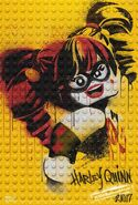 The LEGO Batman Movie Poster graffiti Harley Quinn