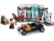 76167 L'armurerie d'Iron Man 4