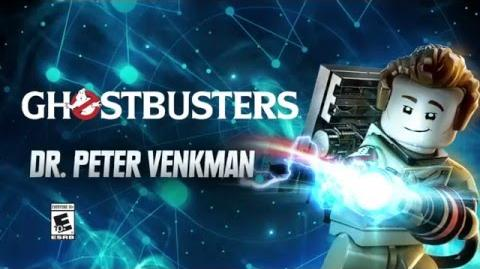 Character Spotlight Peter Venkman LEGO Dimensions