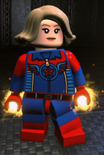 Custom Cap Marvel
