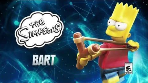 Character Spotlight Bart LEGO Dimensions