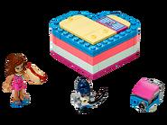 41387 La boîte cœur d'été d'Olivia