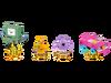 71246 Pack Équipe Adventure Time