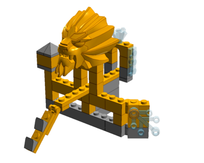 Case 1 Temple Lion
