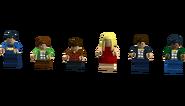 The Big Bang Theory set 3 (Minifigures)