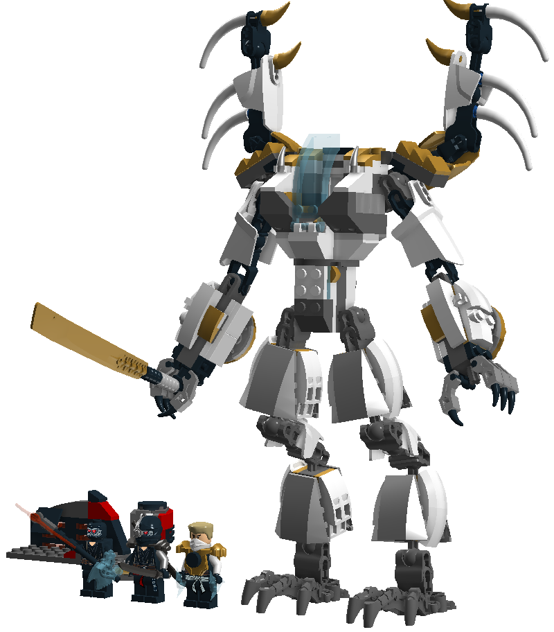 Warriors The New Prophecy Set The Complete Second Series: Custom:Zane's Dragonoid