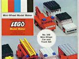 348 Mini-Wheel Car and Truck Set