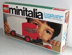 23-Delivery Truck Set Box