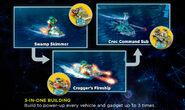 Chima-Cragger-Swamp-Skimmer-Rebuilds