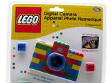 LG1002 Digital Blue Digital Camera