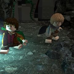 Frodo and Samwise in <a class=