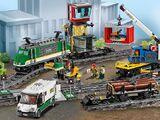 60198 Le train de marchandises télécommandé