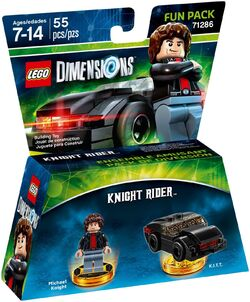 71286 Knight Rider Fun Pack Box