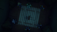 Ninjas emprisonnés-Derrière les barreaux