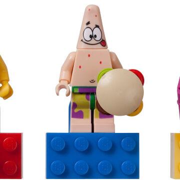 Lego® Spongebob Minifigur Patrick Super Hero aus  Set 3815 Neu