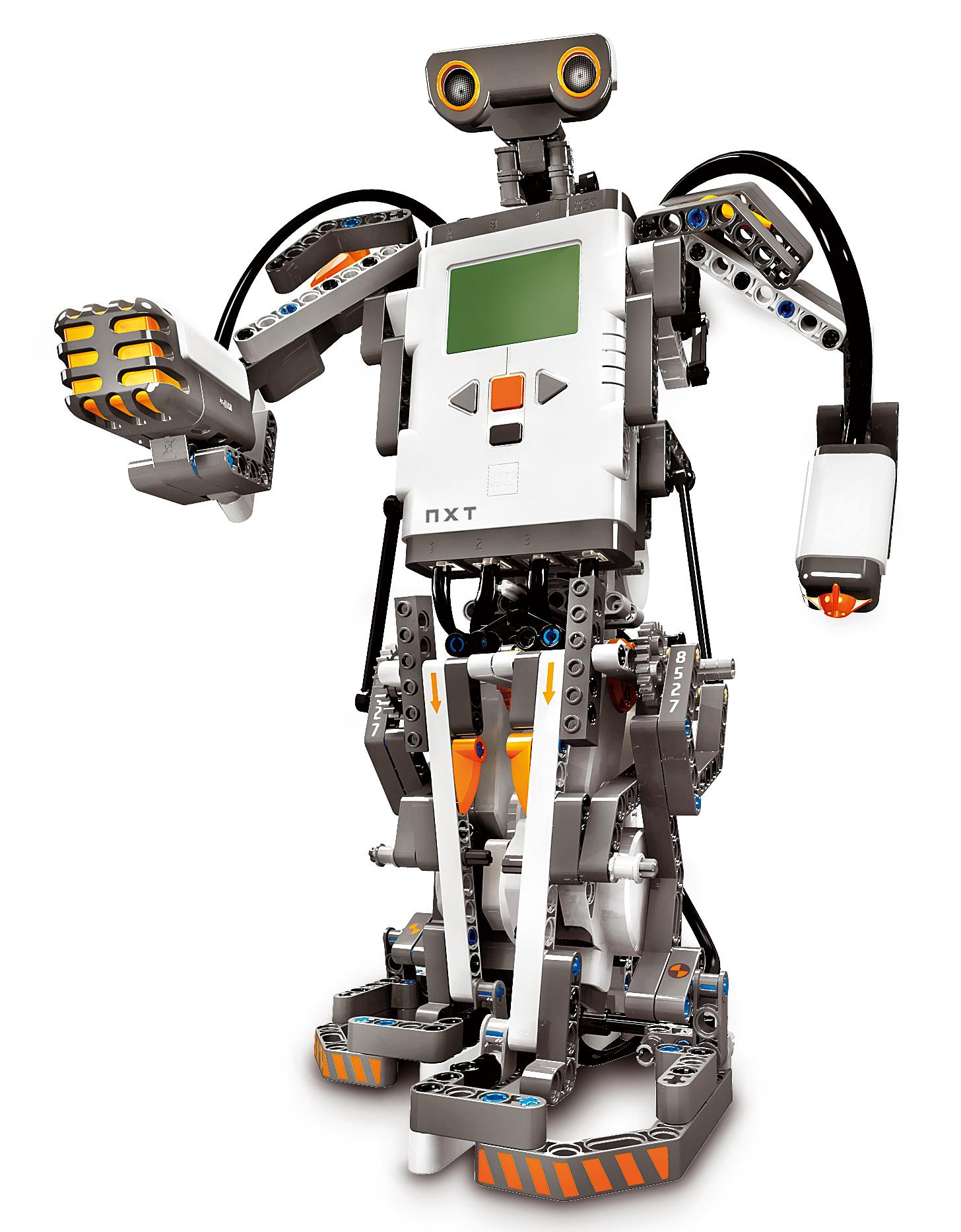 Sumo robot design nxt program
