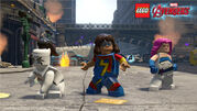Lego White Tiger Ms Marvel Jewel