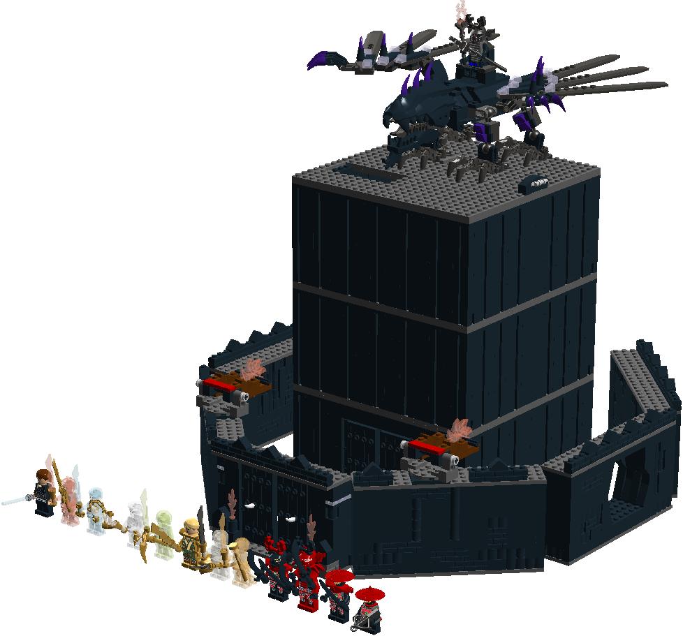 Custom The Dark Fortress Brickipedia Fandom Powered By
