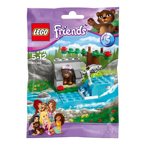CARTON 1 New Lego Friends Brown Bear/'s River 41046