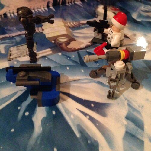 75056 Guerre des clones Noël Dark Yada