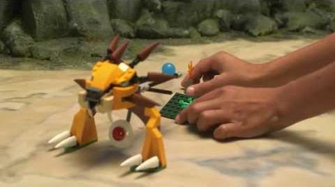 LEGO Chima 70115 - Rozhodující turnaj speedorů