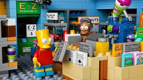 LEGO The Simpsons - Kwik-E Mart 71016 Designer Video