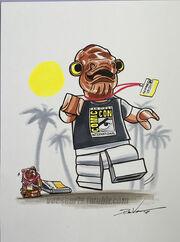 Lego star wars admiral ackbar san diego comic con by danveesenmeyer-d91j45g