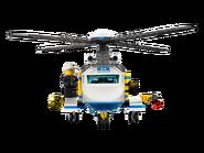3658 L'hélicoptère de police 3