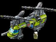 60125 L'hélicoptère de transport du volcan 3