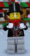 Lego Worlds Male Caroler