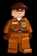 Hombre de seguridad