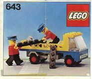 643 Flatbed Truck