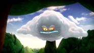 Evil storm cloud