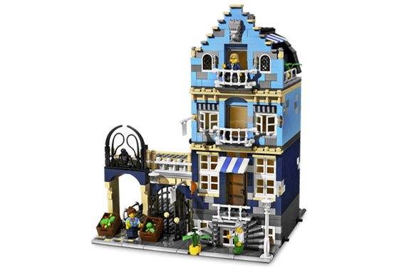 LEGO City Apartment BUILDING INSTRUCTIONS ONLY! NO PARTS! 10182 10185 10190