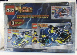 65118 Alpha Team Secret Mission Collector's Pack