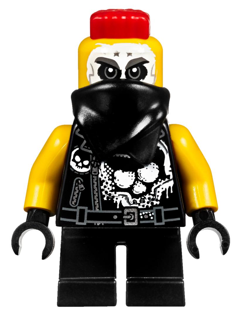 LEGO Ninjago Skip Vicious Minifigure 70640 Sons of Garmadon Mini Fig