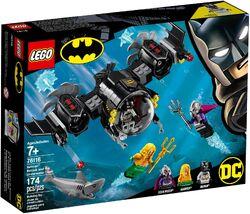 76116 Batman Batsub and the Underwater Clash Box