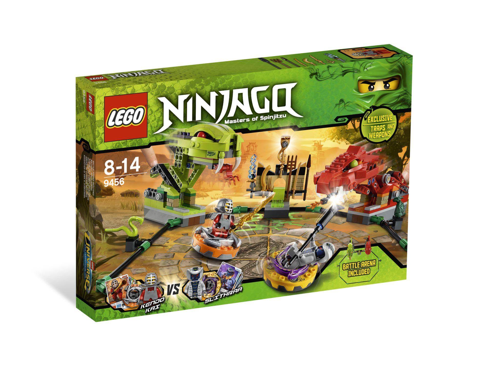 spinner battle arena - Jeux De Lego Ninjago Spinjitzu