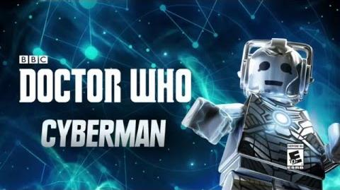 Character Spotlight Cyberman LEGO Dimensions