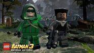 LEGO Batman 3 Arrow et Slade Wilson