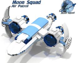 Moon Squad - Air Patrol - cover