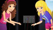 Olivia et Stéphanie câbles-Une voix qui porte