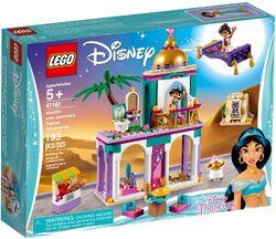 41161 Aladdin and Jasmine's Palace Adventures Box