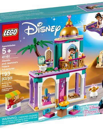 Disney LEGO Jasmine Minifigure Complete Set with Stand and Accessories