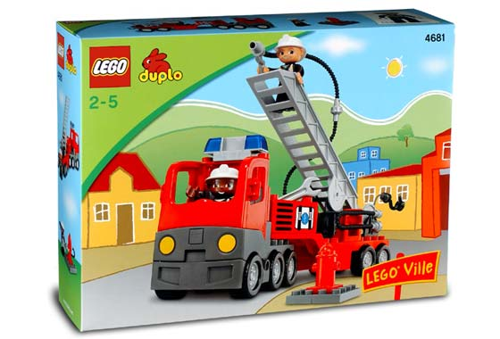 4681 Fire Truck Brickipedia Fandom Powered By Wikia