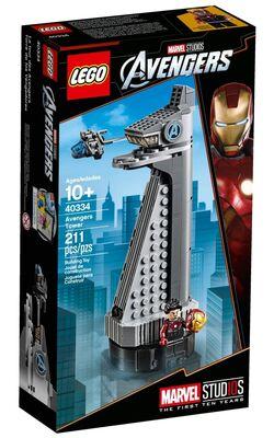 40334 Avengers Tower 2